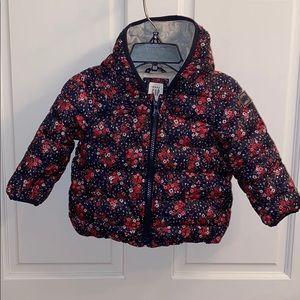 Gap Infant Girl Puffer Coat.